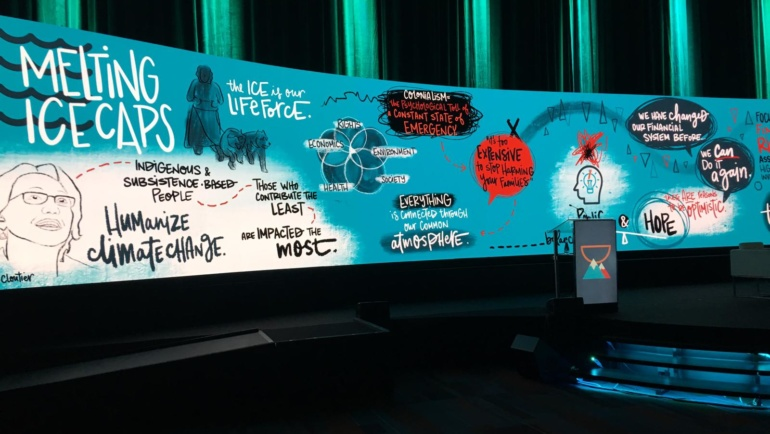 'Migrants, #MeToo and Melting Icecaps': Stewart Wallis reports back from GABV summit