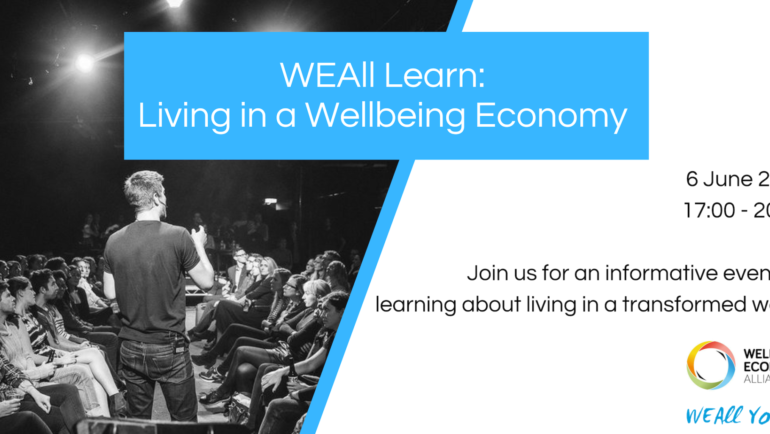 WEAll Learn: living in a wellbeing economy | Amsterdam, NL