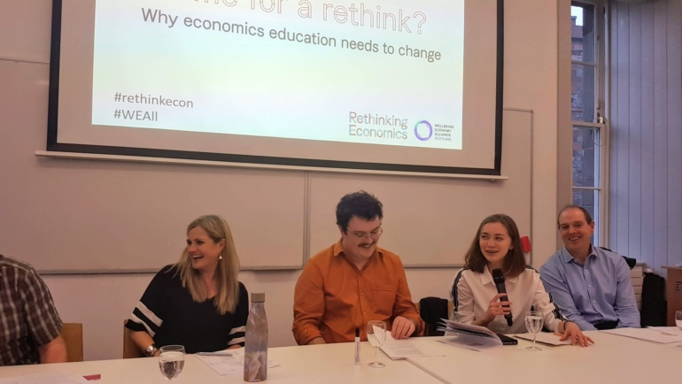 Rethinking economics education in Edinburgh