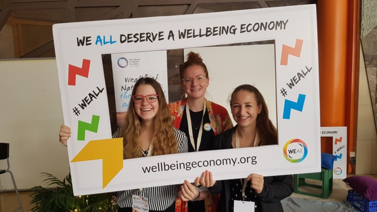 WEAll Youth at NESI Forum – by Pien Gerards, Mara Tippman, Esther Snijder