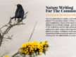 Nature writing competition for the common good – CUSP