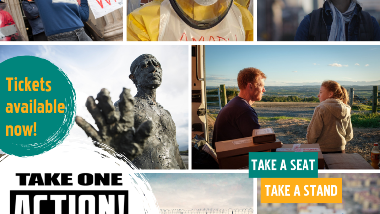 Scotland's Take One Action film festival gives a chance to 'take a seat and take a stand'
