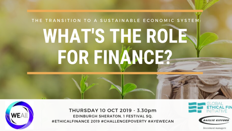 WEAll Scotland event explores the role for finance in system change