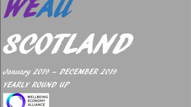 WEAll Scotland 2019 Achievements and Highlight