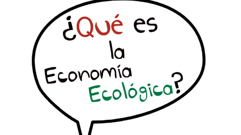 Comic of Ecological Economics (in Spanish)