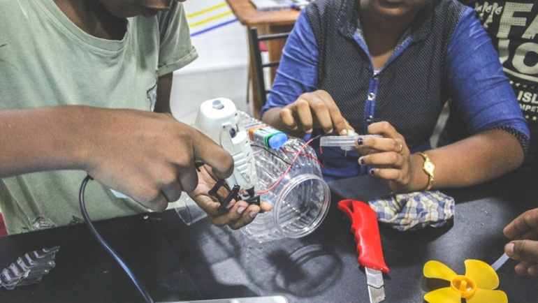 How can makerspaces help build climate change resilience?